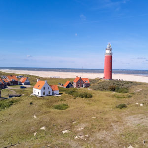 drone video of Texel