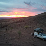 Wildcamping at the Brukkaros Crater