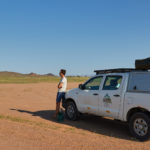 In search of the elusive desert elephants in Damaraland