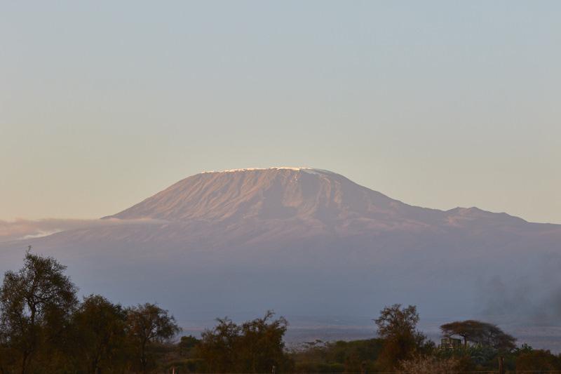 view of kilimanjaro