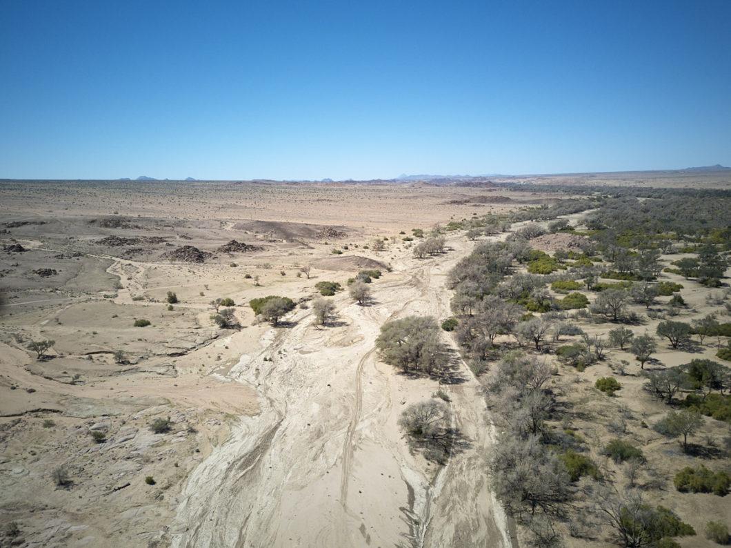 drone namibia