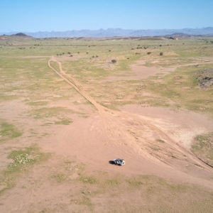 drone namibië