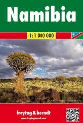 Wegenkaart Namibie